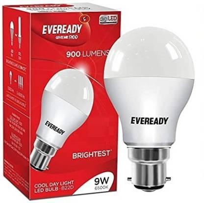 EVEREADY 9 W Standard B22 LED Bulb