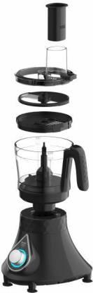 Preethi Zodiac 2.0 MG235 750 W Juicer Mixer Grinder (4 Jars, Black)