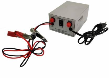 STAR SUNLITE 12V 5A Automotive/Two-Wheeler/Bike/Car Battery Charger (Boost Voltage : 14.4V / Float Voltage : 13.8V) 2000 Ah Battery for Car, Bike, Truck