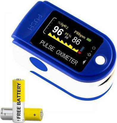 SF Stay Safe Pulse Oximeter,3 in 1 Pulse Oximeter Fingertip for Adult and Children with SpO2 Pulse Oximeter,Pulse Rate,Perfusion Index,Heart Rate Monitor,Automatic Shutdown and Fast Reading Pulse Oximeter