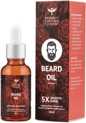 BOMBAY SHAVING COMPANY Beard Oil For Men- Cedarwood 30ml Hair Oil