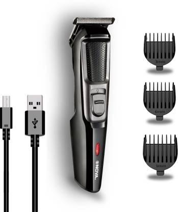 NOVA NHT 1074 USB  Runtime: 30 min Trimmer for Men