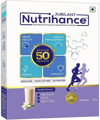 Jubilant Nutrihance Nutritional Formula help Enhance Health(Vanila)