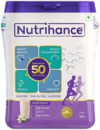 Jubilant Nutrihance Nutritional Formula help Enhance Health (Vanilla)(400g_