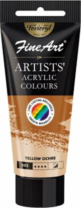 Fineart Artists Water Based Acrylic Colour Tube for Painting on Canvas FFR814204000005