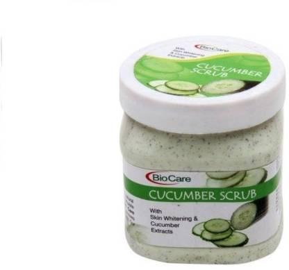 BIOCARE Cucumber Scrub with Skin Whitening Scrub