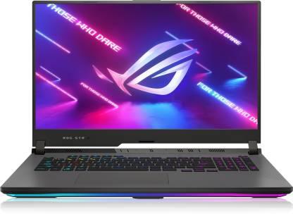 ASUS ROG Strix G17 Ryzen 5 Hexa Core AMD Ryzen™ 5 5600H 5th Gen - (16 GB/512 GB SSD/Windows 10/4 GB Graphics/NVIDIA GeForce RTX 3050 Ti/144 Hz) G713QE-HX063T Gaming Laptop
