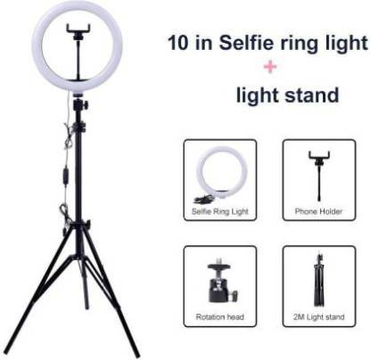 Mindfied Mobile Holder Accessory Combo for Mobile::Selfie Ring