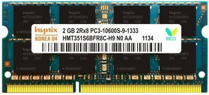 Hynix 1333MHZ DDR3 2 GB Laptop DDR3 (Lapee 1333)