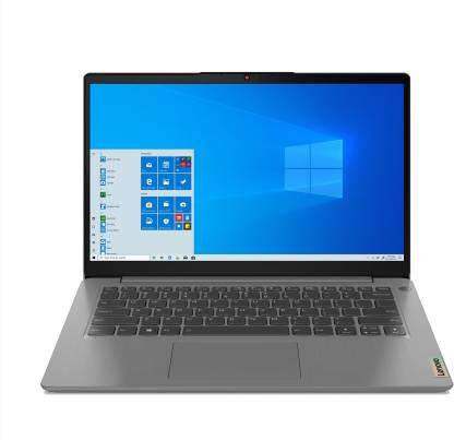 Lenovo IdeaPad Slim 3 Core i3 11th Gen - (8 GB/512 GB SSD/Windows 10 Home) 14ITL6 Thin and Light Laptop