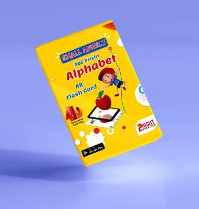 SMALL ANGELS ALPHABET - ABC FLASH CARD