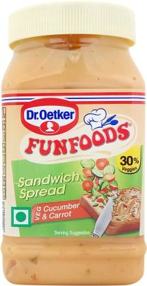 Dr.Oetker Cucumber and Carrot Sandwich Spread 250 g