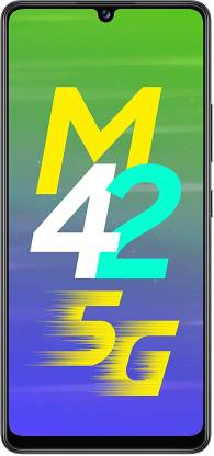 SAMSUNG Galaxy M42 (Prism Dot Black, 128 GB)