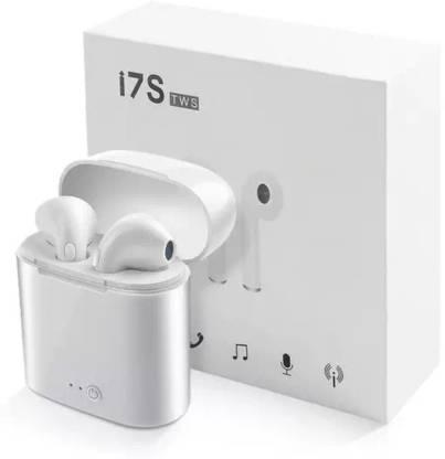 cosvo I7 True Wireless Earpod White Bluetooth Gaming Headset