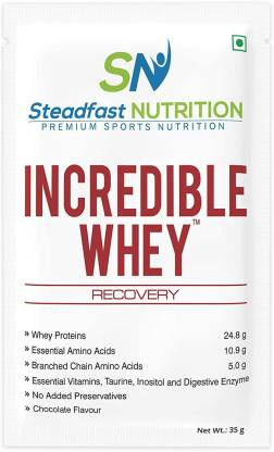 Steadfast Medishield Nutrition Incredible Whey (Box of 60 Sachets) Protein Blends