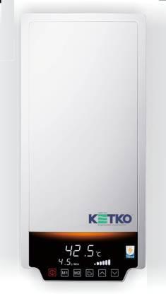 Ketko 1 L Instant Water Geyser (DIGIFLO-T-CWMDF 24 KW, White)