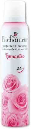 Enchanteur Romantic Body Mist  -  For Women