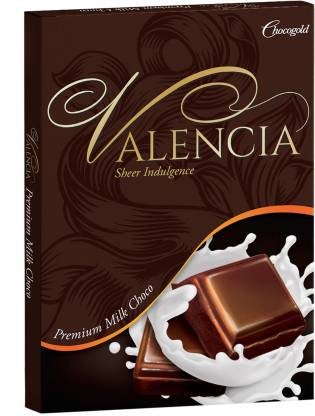Chocogold Valencia Premium Milk Choco Bars