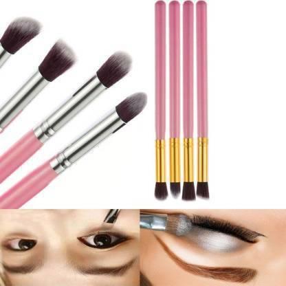 KASCN Professional Eyeshadow Blending Pencil Eye Brushes Set Makeup Tool Beauty Set of 4