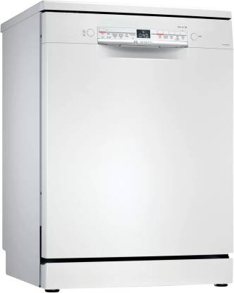 BOSCH SMS6ITW00I Free Standing 13 Place Settings Dishwasher