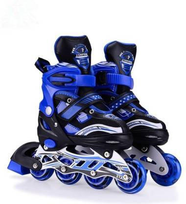 HOTEON Skating Shoe have different size and with PU LED wheel In-line Skates - Size 5.5-7.5 UK