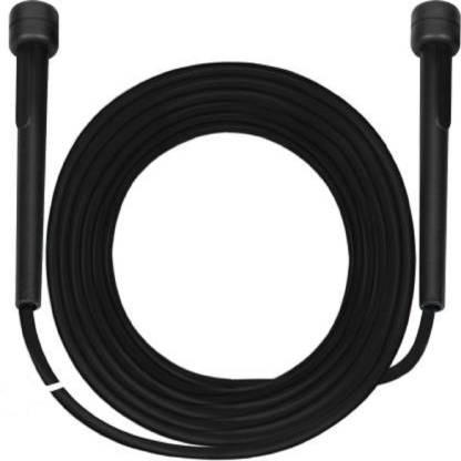 LA OTTER Basic Freestyle Skipping Rope (Black, Length: 115.5 inch) Freestyle Skipping Rope