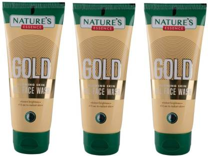 Nature's Essence Gold illuminating Face wash ( Pack Of 3) Face Wash