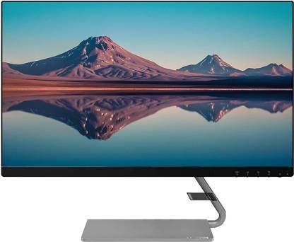 Lenovo 23.8 inch Full HD LED Backlit IPS Panel Ultra Thin Monitor (Q24i-1L)