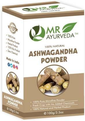 MR Ayurveda 100% Organic Ashwagandha Powder