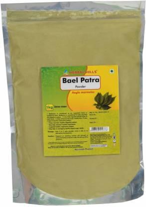 Herbal Hills Baelpatra Powder - 1 kg powder - Pack of 4