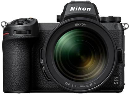 NIKON Z6 II Kit Mirrorless Camera 24-70mm F/4S with 64GB UHS-II High Speed SD Card