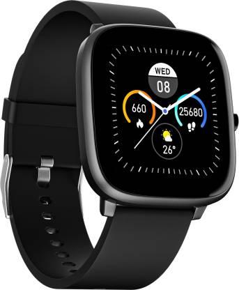 Noise ColorFit Qube Charcoal Grey Smartwatch
