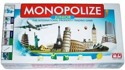 top junior international monopolize board card game for kids original imag4cmynjqgtucd