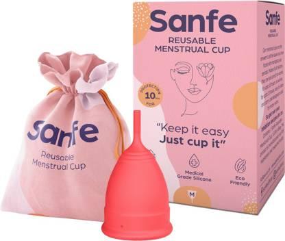 Sanfe Medium Reusable Menstrual Cup