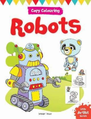 Little Artist Series Robots - By Miss & Chief