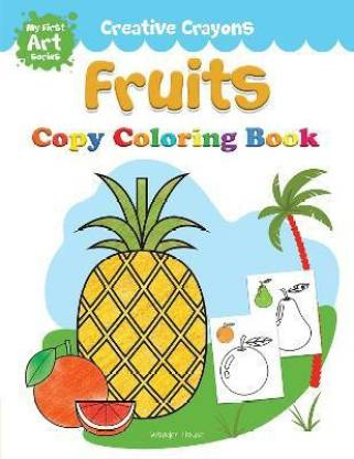 Colouring Book of Fruits - By Miss & Chief