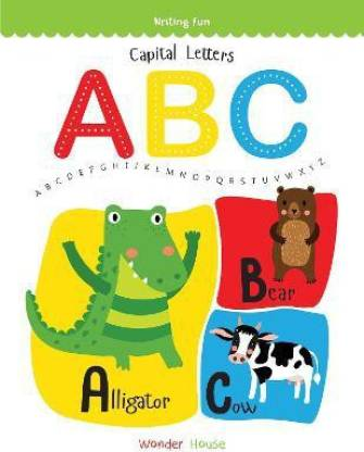 Capital Letters ABC - By Miss & Chief