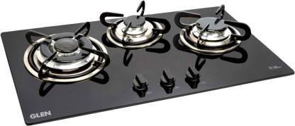 GLEN 1073 TR Built in Hob Glass Automatic Gas Stove