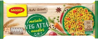 Maggi Nutri-licious Atta Masala Instant Noodles Vegetarian