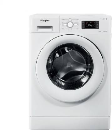 Whirlpool 8 kg Fully Automatic Front Load White