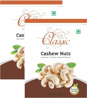 Nidhivan Classic Whole (2*250gms) Cashews
