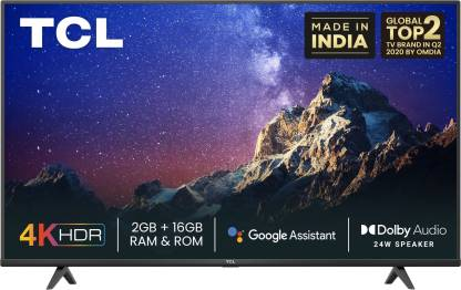 TCL P615 164 cm (65 inch) Ultra HD (4K) LED Smart Android TV