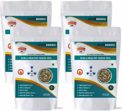 Seeds Berry 5 in 1 Healthy Seeds Mix for Weight Loss, Muscle building