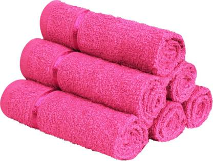 Story@home Cotton 450 GSM Face Towel Set(Pack of 6)
