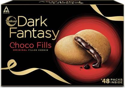 Sunfeast Dark Fantasy Choco Fills Festive Pack Cream Filled