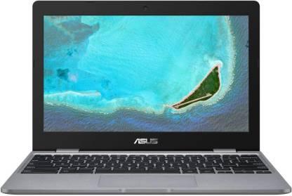 ASUS Chromebook Celeron Dual Core - (4 GB/32 GB EMMC Storage/Chrome OS) C223NA-GJ0074 Thin and Light Laptop
