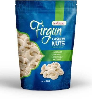 Nidhivan Firgun Kaju Premium (250gms) Cashews
