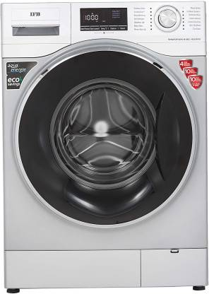 IFB 8 kg 5 Star 3D Wash Technology, Aqua Energie, Anti- Allergen, In-built heater Fully Automatic Front Load with In-built Heater Silver