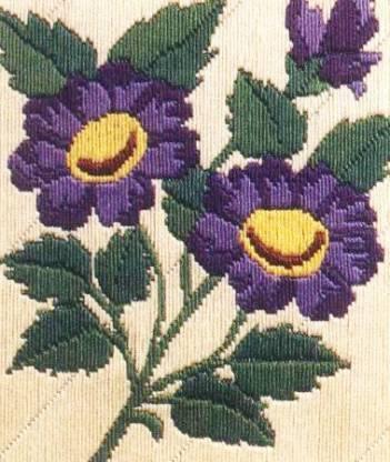 ANCHOR Stitch Kits - Purple Glory