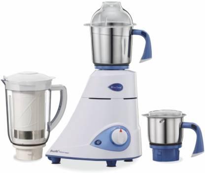 Preethi Blue Leaf Platinum select MG226 750 W Mixer Grinder (3 Jars, White)